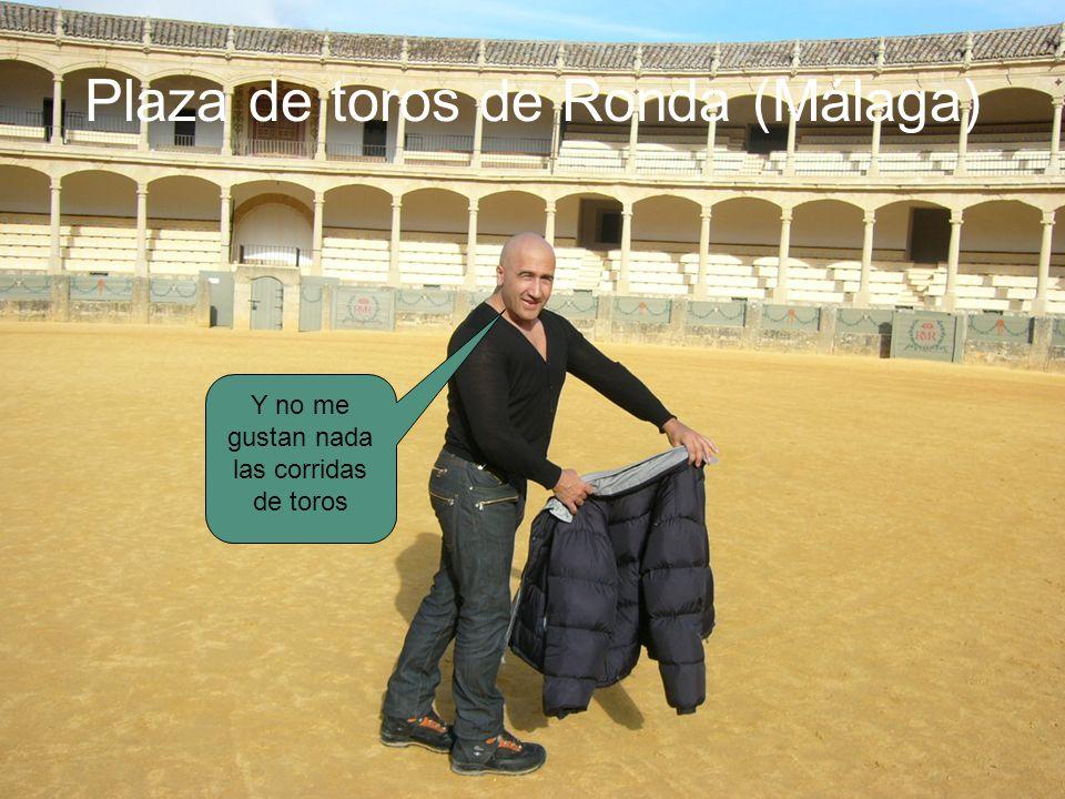 Plaza de toros de Ronda (Málaga) Y no me gustan nada las corridas de toros