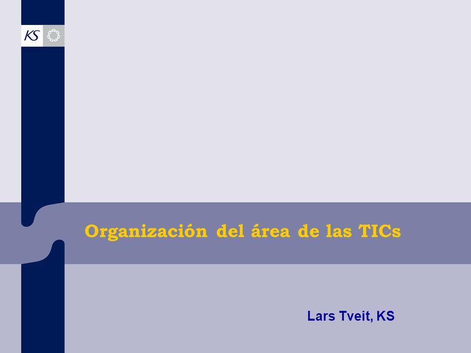 Organización del área de las TICs Lars Tveit, KS