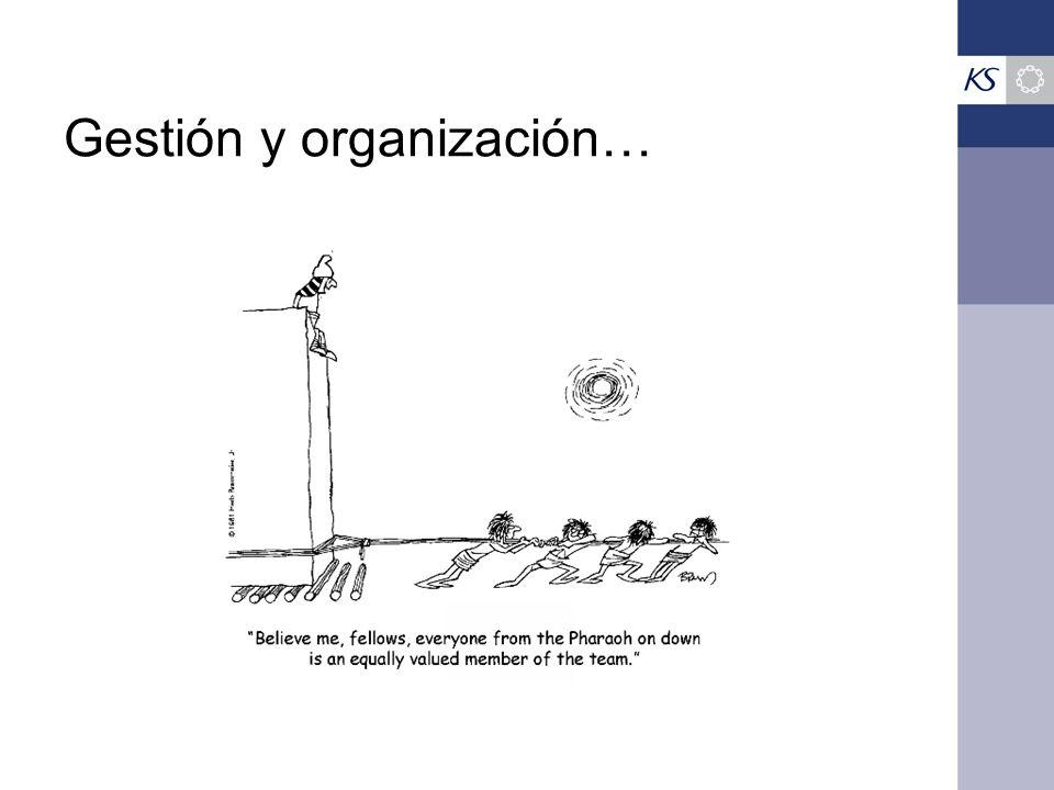 Gestión y organización…