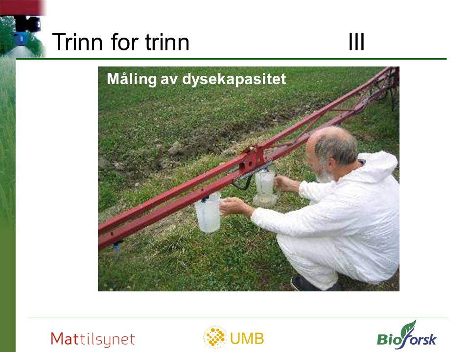 UMB Finn kjørehastighet i km pr. time Trinn for trinn IV