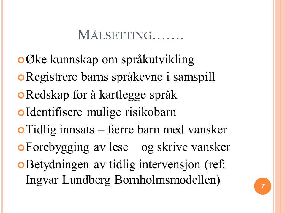 OPPMERKSOMHET Ragnar Gees Solheim Hva er oppmerksomhet.