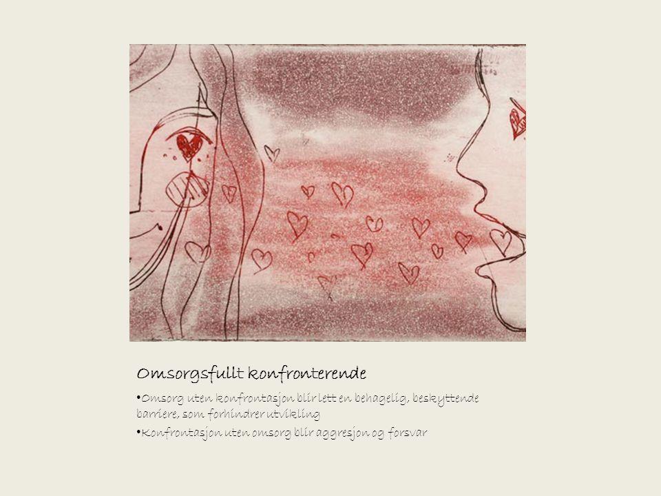 Det eneste alternativet til formynderiet, er samtalens muligheter (Illustrasjonene er laget av Bjørg Thorhallsdottir)