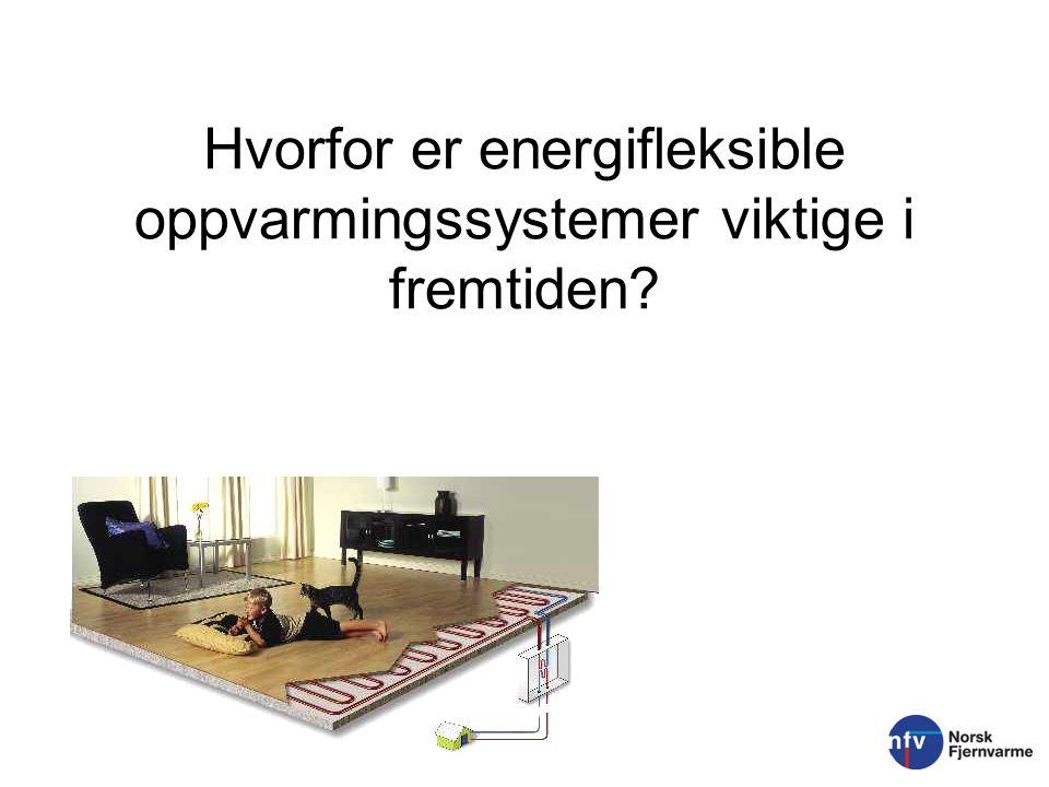 De termiske systemene er viktige supplement til kraftsystemet o Bidrar med fleksibilitet og er en regulator for kraftsystemet (Ref.