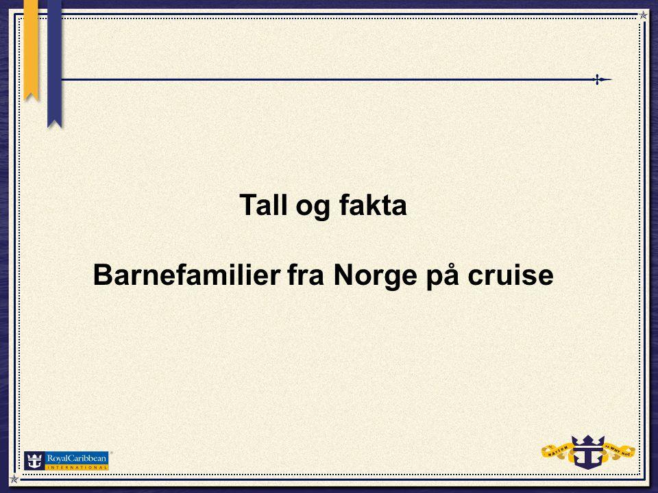 De siste seks årene har det norske cruisemarkedet vokst sterkt, spesielt de siste tre årene.