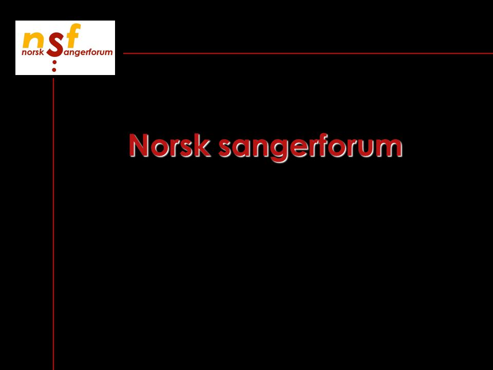 Norsk sangerforum