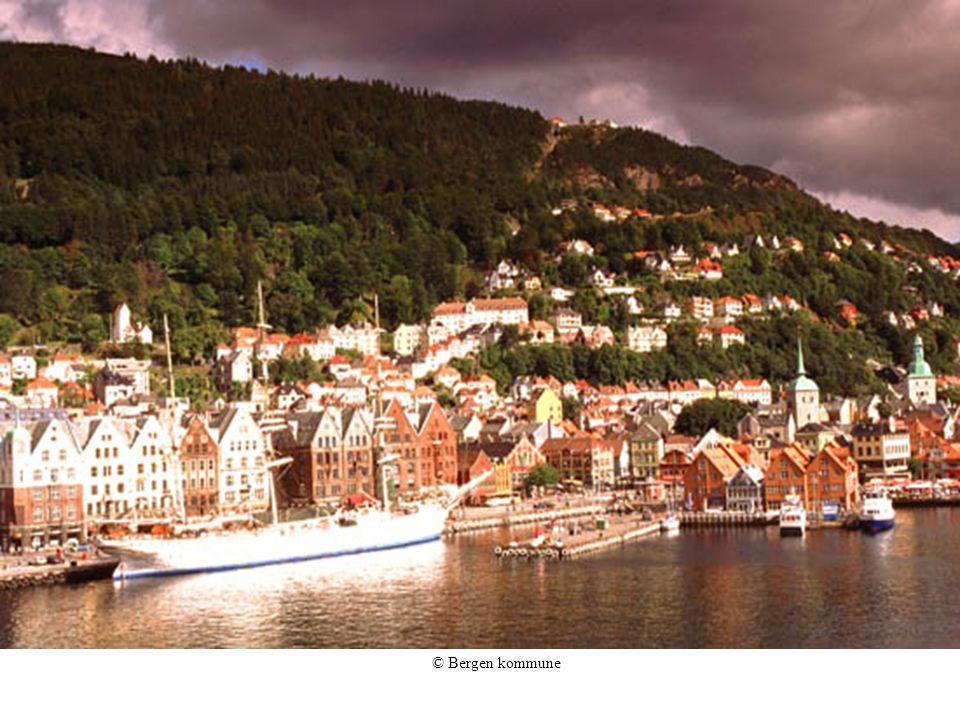 © Bergen kommune Den gamle havnen i Bergen