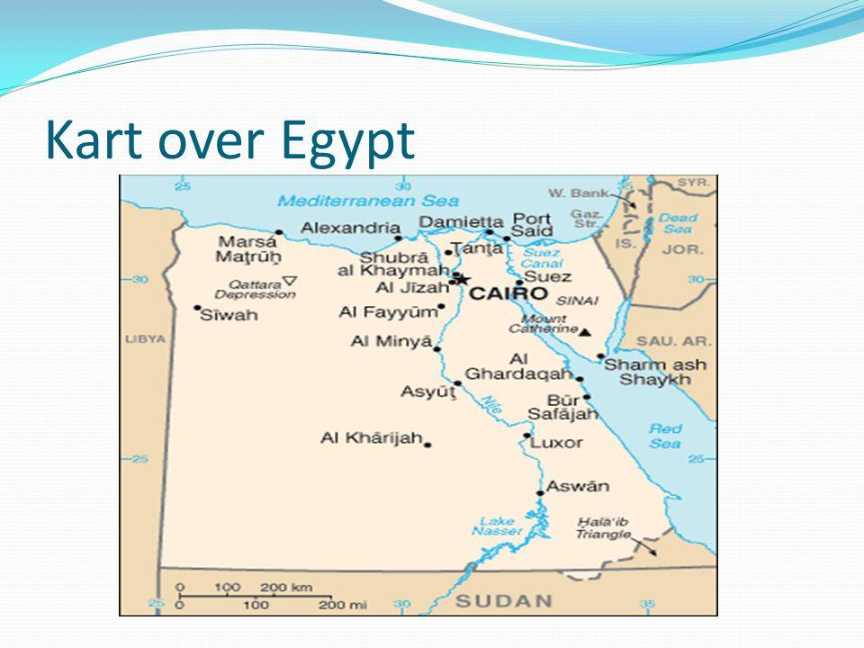Pyramidene: Pyramidekomplekset ved Giza i Egypt omfatter i alt ni pyramider.