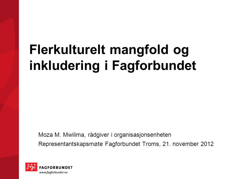 Flerkulturelt mangfold og inkludering i Fagforbundet Moza M.