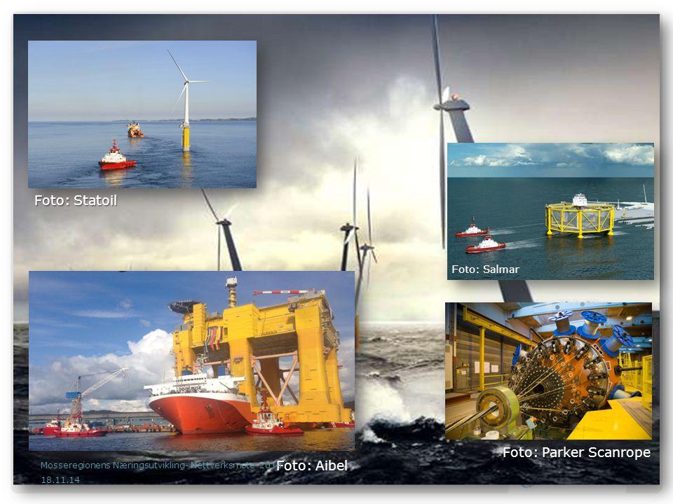 Teknologi og kunnskapsoverføring fra petroleumsindustrien - maritim fornybar teknologi Mange norske leverandører er allerede betydelige tilstede i internasjonale markeder Jackets, kabler, omformerstasjoner, installasjonsfartøyer m.m.