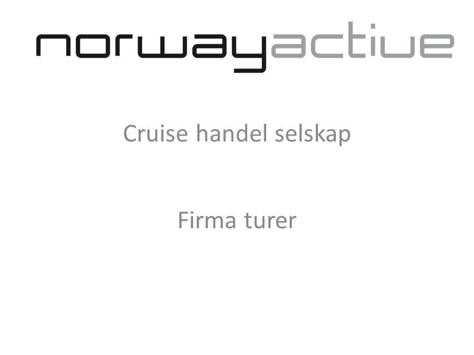 Cruise handel selskap Firma turer