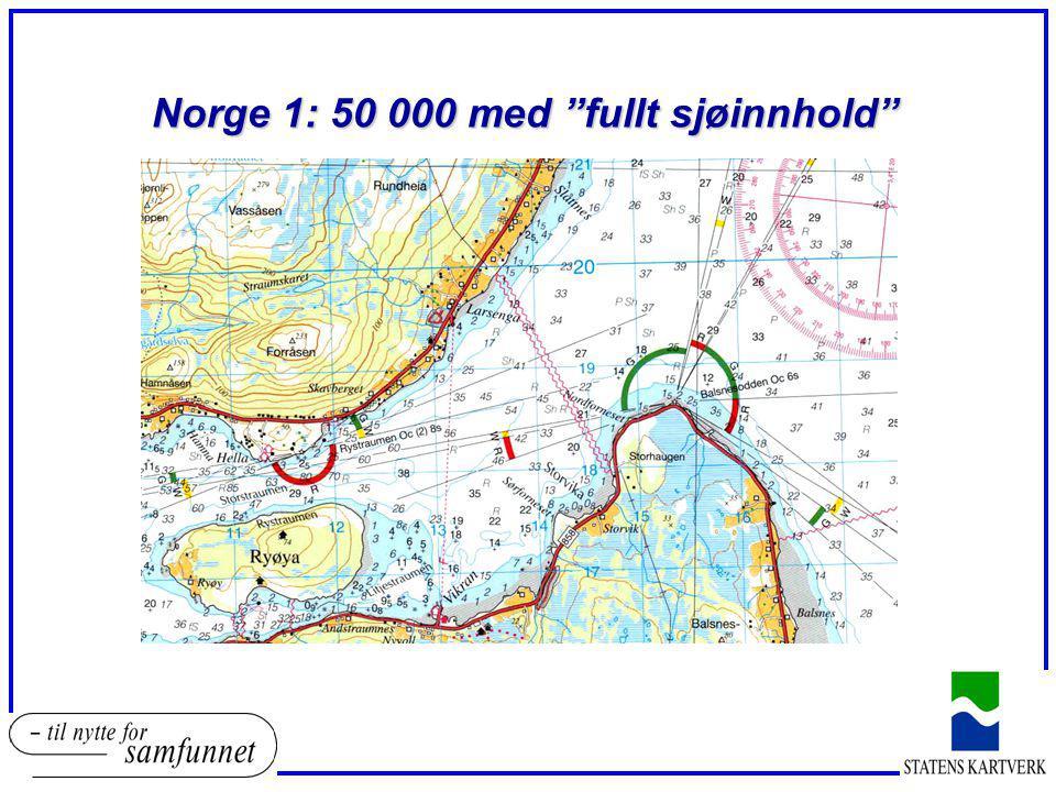 """Norge 1: 50 000 med """"fullt sjøinnhold"""""""