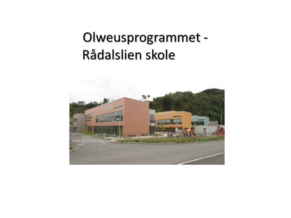 Olweusprogrammet - Rådalslien skole
