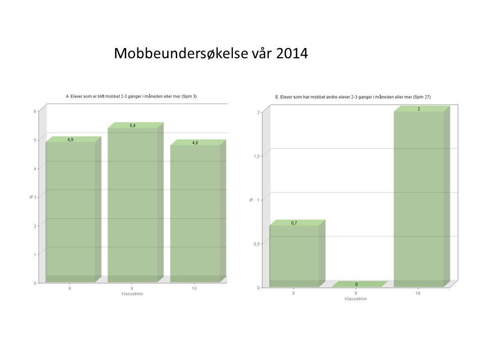 Mobbeundersøkelse vår 2014