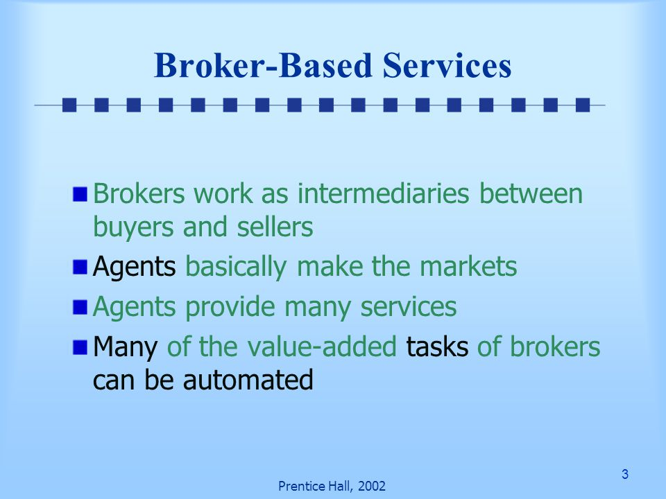 44 Prentice Hall, 2002 Using the extranet Banks provide large business customers with personalized service by allowing them access to the bank's intranet Access accounts Historical transactions Intranet-based decision-support applications On-line banking and Personal Finance