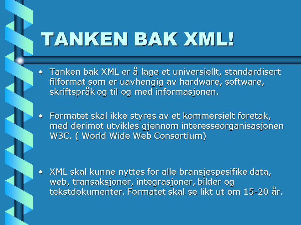 TANKEN BAK XML.
