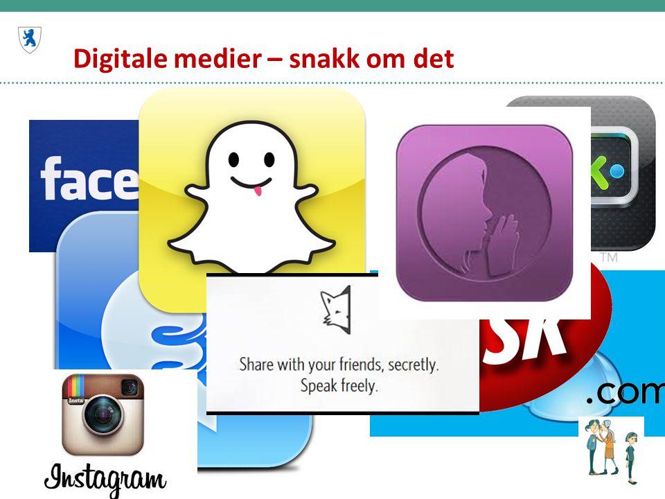 Digitale medier – snakk om det
