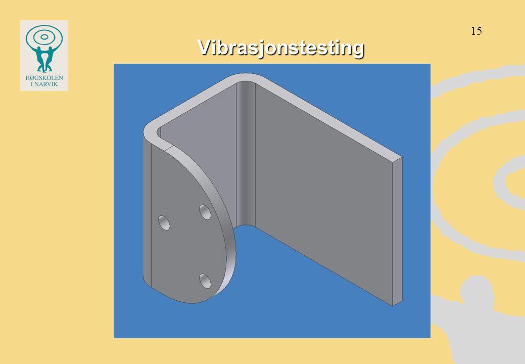 Vibrasjonstesting 15