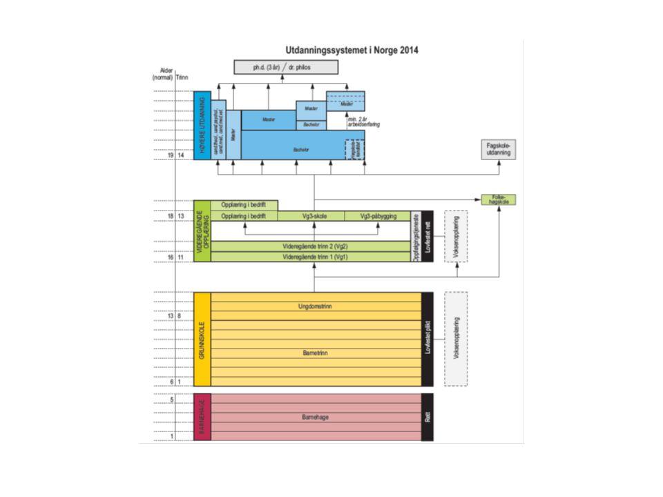 Tilstandsrapport for fagskolene Tilstandsrapporten ble første gang laget på 2011 data.