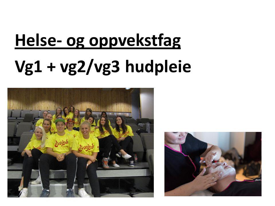 Helse- og oppvekstfag Vg1 + vg2/vg3 hudpleie