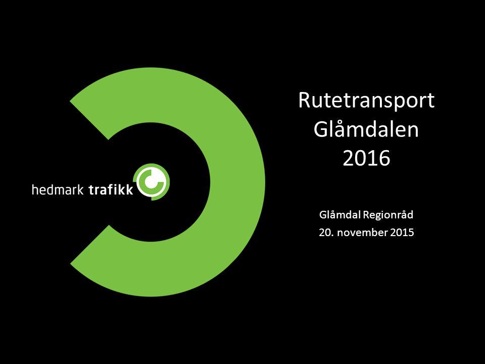 Rutetransport Glåmdalen 2016 Glåmdal Regionråd 20. november 2015