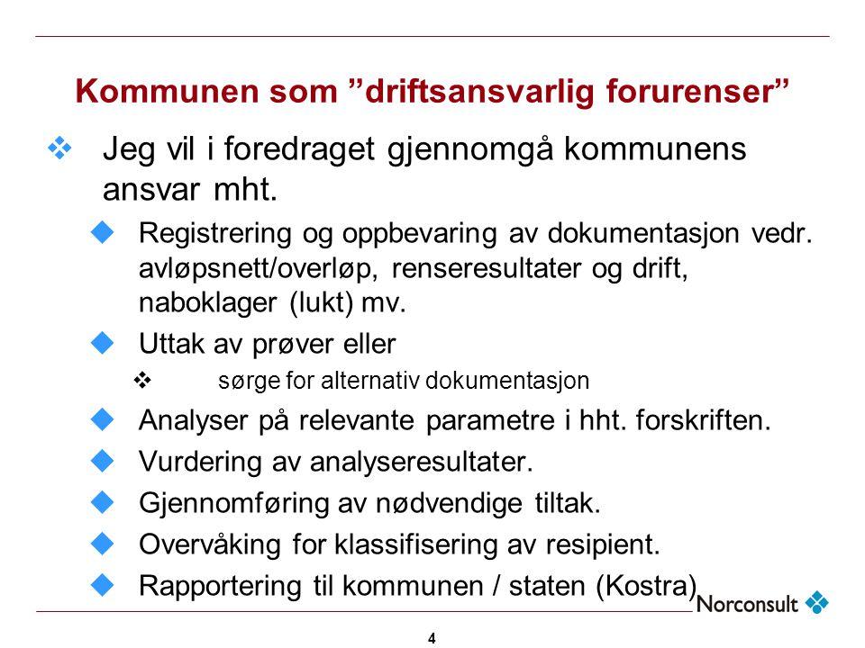 5 Registrering og oppbevaring av dokumentasjon u§ 12-10  Minirenseanlegg i hht EN12566-3, evt.