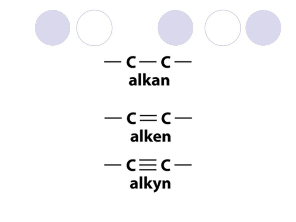 Egenskaper til hydrokarboner Brensel; kortere kjede, jo lettere antennelig Uløselige i vann Jo lenger C-kjeden er, jo høyere kokepunkt – se tabell side 49 Tilstanden for et alkan er avhengig av antall C- atomer  1-4 atomer – gass  5-17 atomer – væske  18 eller flere atomer – fast stoff