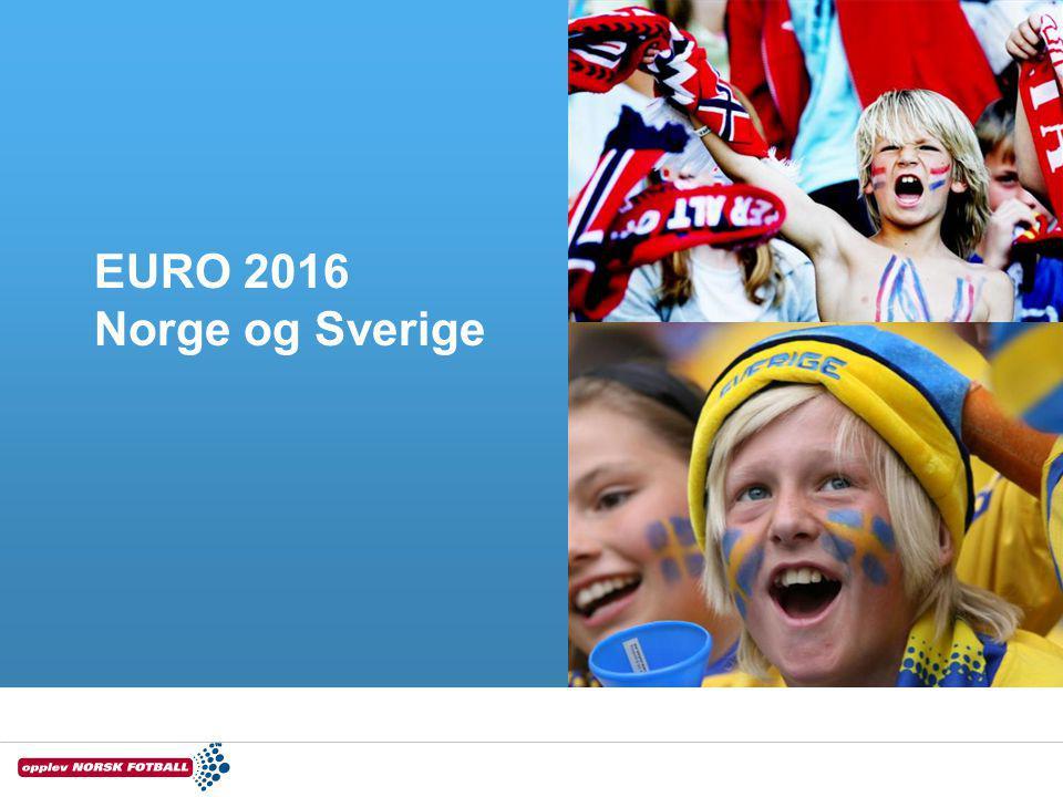 EURO 2016 Norge og Sverige