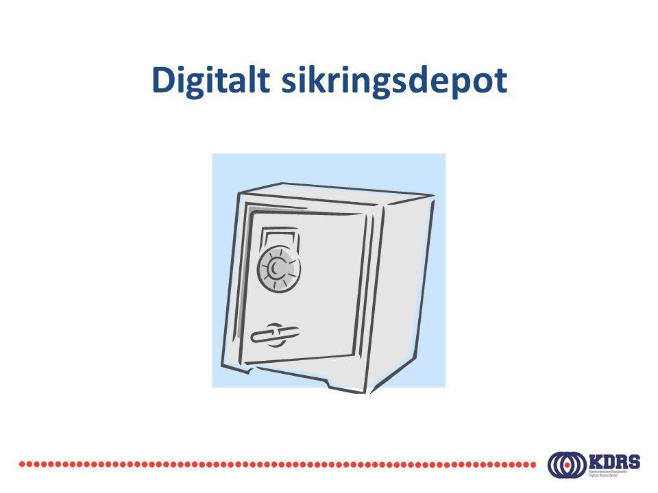 Digitalt sikringsdepot