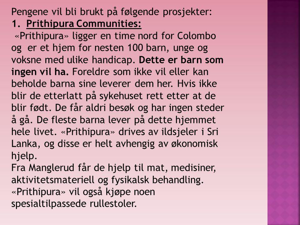 Tusen, tusen takk for pengene. Hilsen Lise Henriksen.