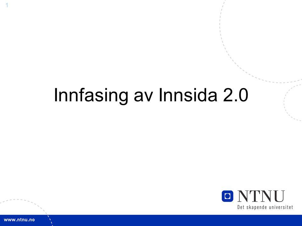 1 Innfasing av Innsida 2.0