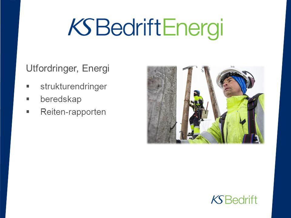 Utfordringer, Energi  strukturendringer  beredskap  Reiten-rapporten