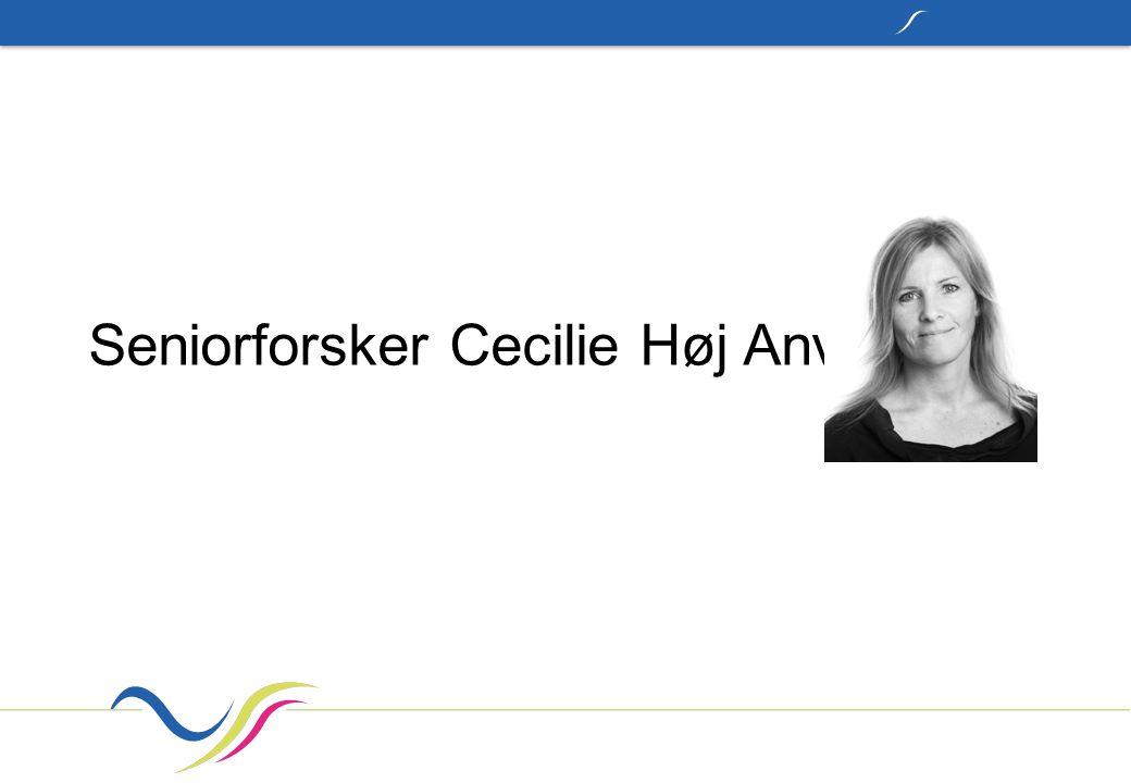 Seniorforsker Cecilie Høj Anvik
