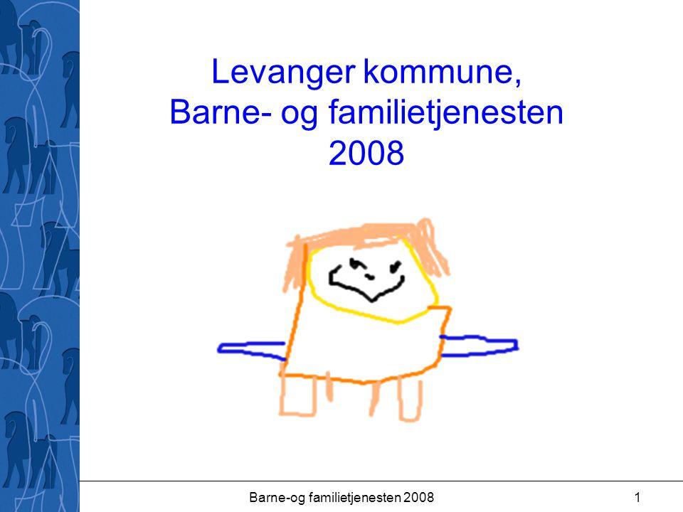 Barne-og familietjenesten 20081 Levanger kommune, Barne- og familietjenesten 2008