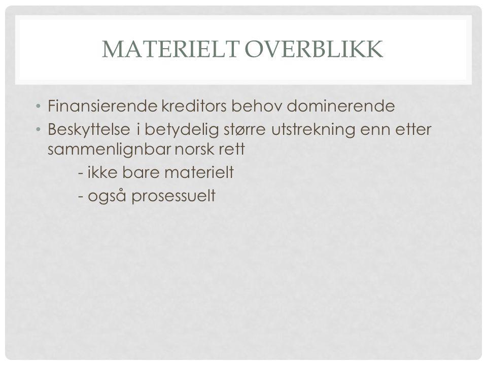 NORSK GJENNOMFØRING lov 12.11.2010 nr.