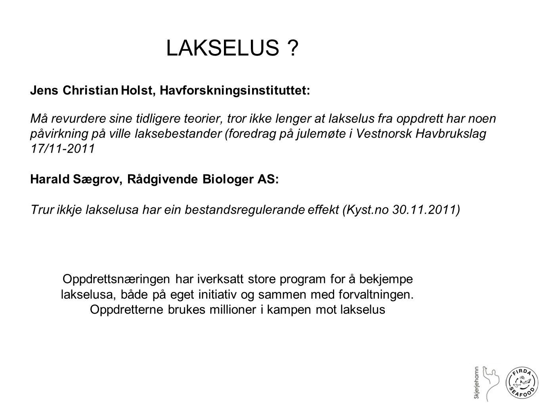 Hein Rune Skjoldal, seniorforsker på Havforskningsintituttet: kronikk i Bergens Tidende 14.02.2008: Skyld ikke på Havbruket, både jordbruk og havbruk påvirker miljøet med gjødsling, men havbruk står for en forsvinnende del av overgjødslinga .