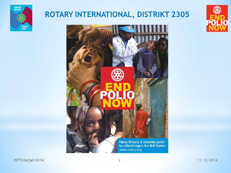 11.12.2014PETS Hafjell 2014 2 ROTARY INTERNATIONAL, DISTRIKT 2305 Hva er poliomyelitt.