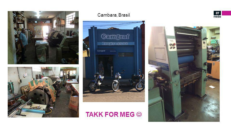 Cambara, Brasil TAKK FOR MEG