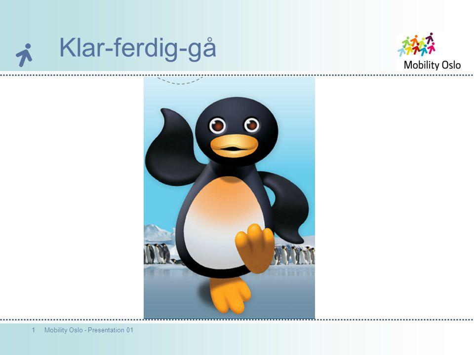 2Mobility Oslo - Presentation 01 2007 Vinneren ble avgjort med beste tekstforslag: Hva er det beste med å gå til skolen.