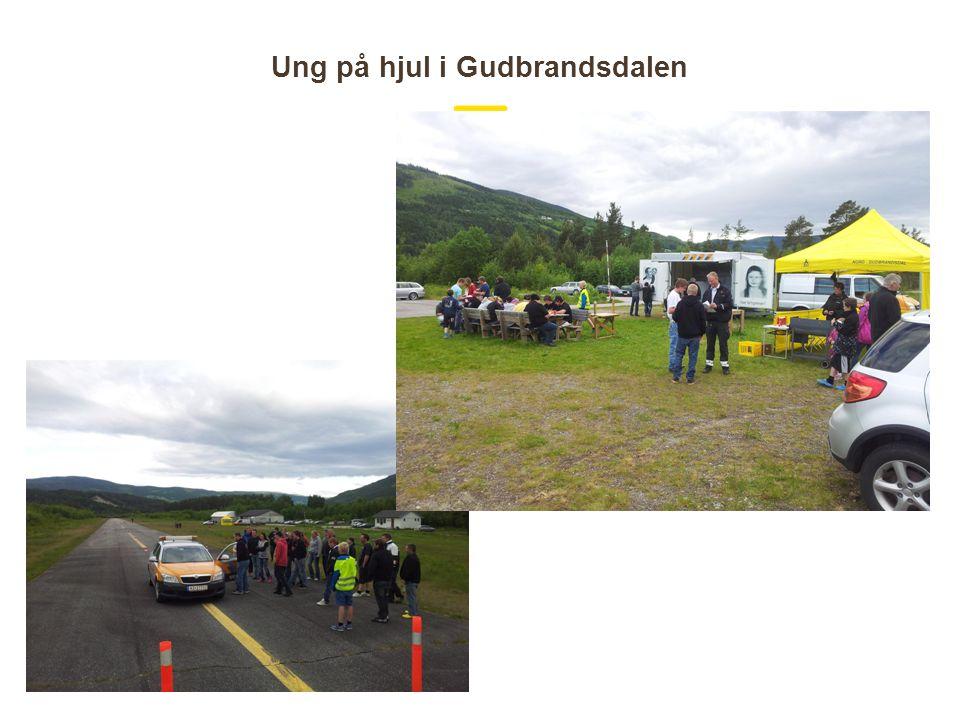Ung på hjul i Gudbrandsdalen