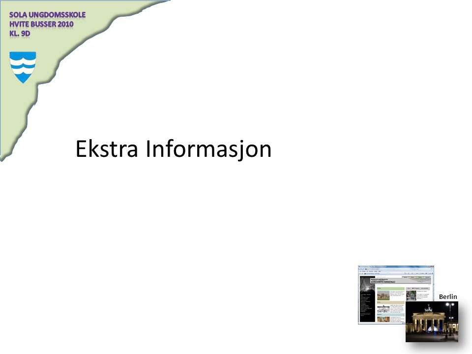 Ekstra Informasjon Berlin