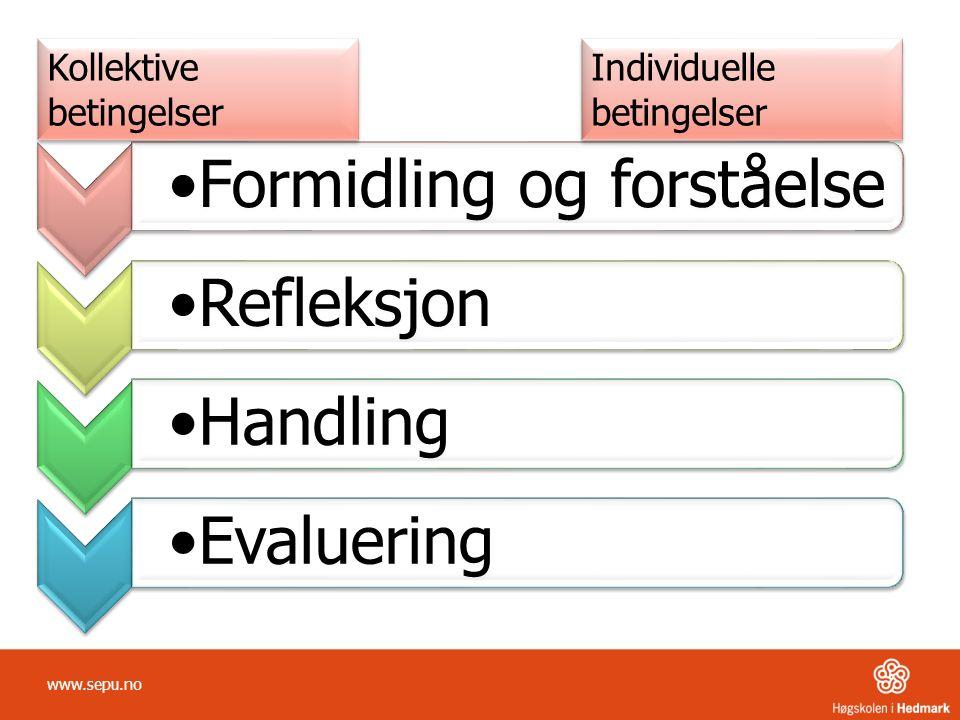 www.sepu.no Kollektive betingelser Individuelle betingelser