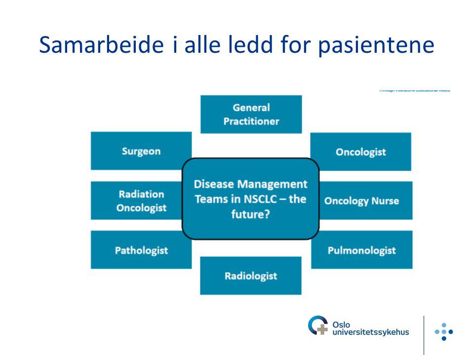 Lungekreft i Allmenpraksis –Allmennpraktikeren ser derfor disse pasientene med jevne mellomrom i ulike faser av sykdomsforløpet: både i utrednings-, behandlings- og kontrollfase, og ikke minst i palliativ og terminal fase.
