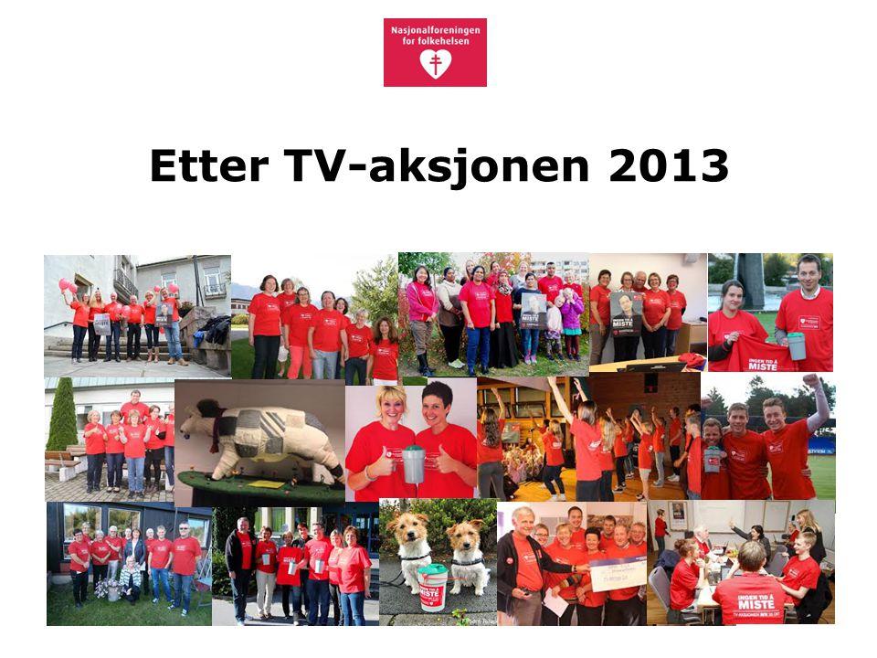 Etter TV-aksjonen 2013