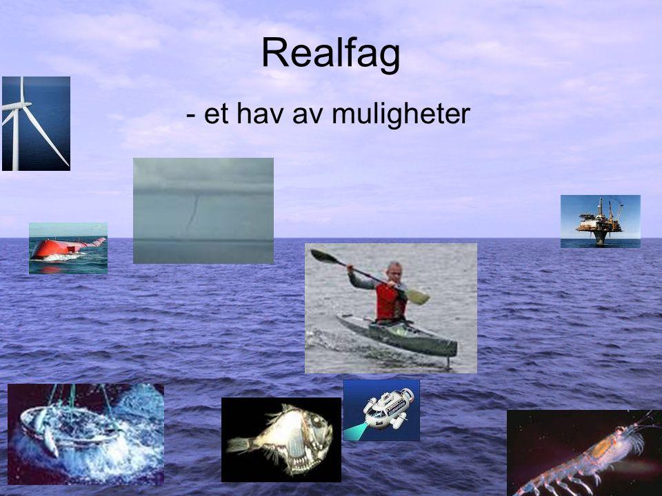 Realfag - et hav av muligheter