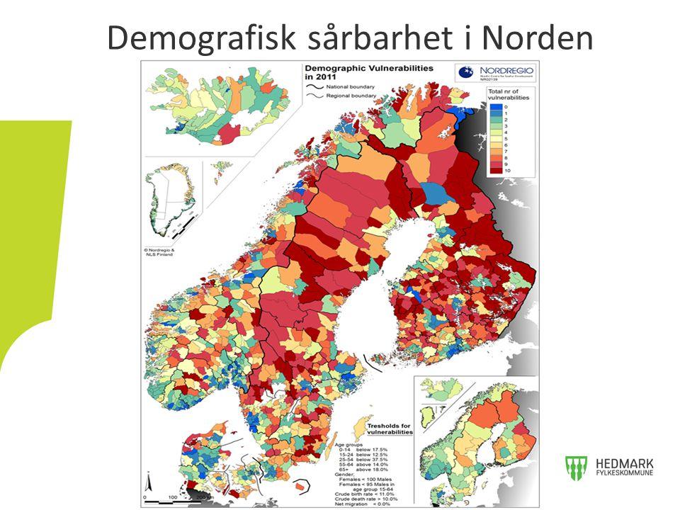 Demografisk sårbarhet i Norden