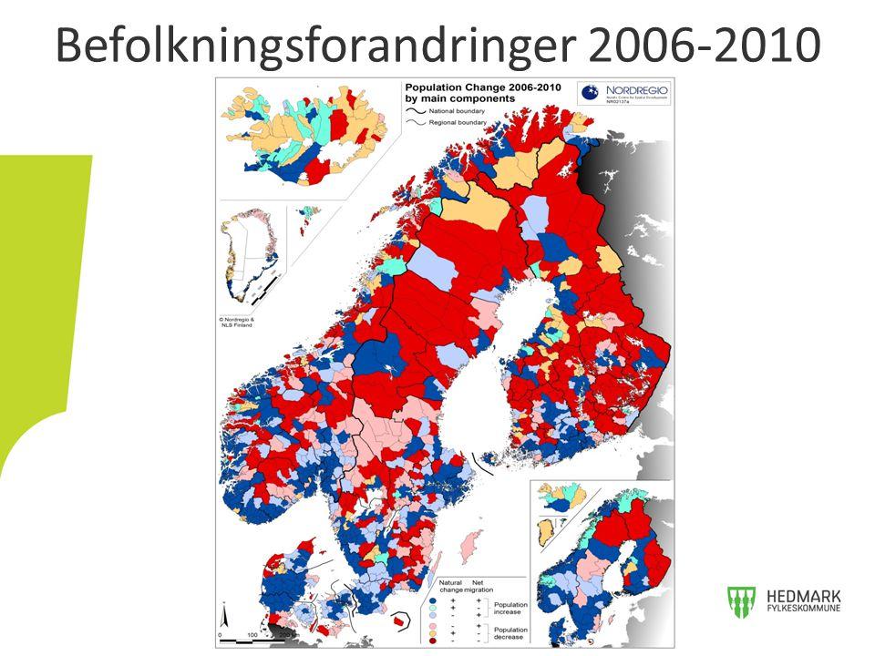 Befolkningsforandringer 2006-2010
