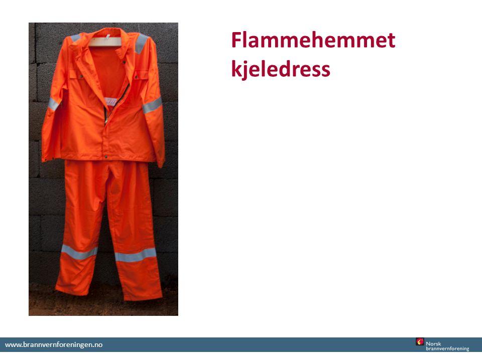 www.brannvernforeningen.no Flammehemmet kjeledress
