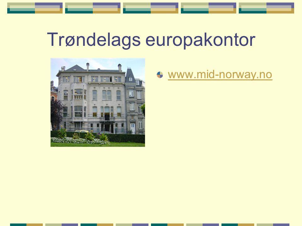 Trøndelags europakontor www.mid-norway.no