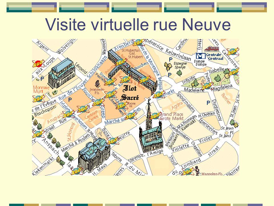 Visite virtuelle rue Neuve