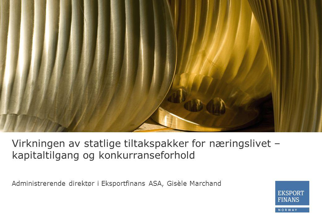 Hvordan skal bedrifter finansiere seg fremover Kilde: Nordea Markets/ DnB NOR Markets